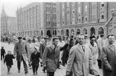 DDR, Rostock, Lange Straße, Foto: Sammlung Anne Meinke