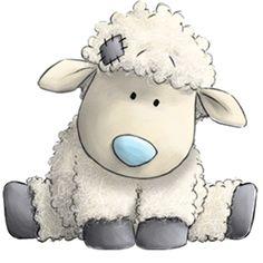 dulce ovejita clipart