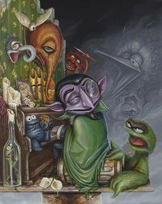 Sesame Street characters by Greg Simkins