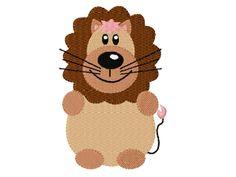 Stickmuster Stickdatei Embroidery Design Animal Lion by www.Stickmuster.org. Dein Shop für Stickmuster / Stickdateien. Your Embroidery Designs Shop.