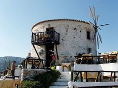Windmill restaurant Skiathos