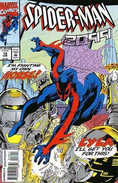 fe3c556f093 Spider-Man 2099  18 (April 1994) Comic Book Covers