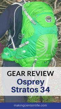 Shout out to the world! I love my Osprey Stratos 34 hiking backpack! If you are looking for a backpack suitable for long day hiking trips or even light overnight hiking trips, then check out this Osprey Stratos 34 Review.