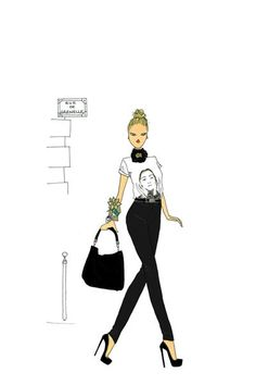 This elongated and streamlined silhouette by Angeline Melin