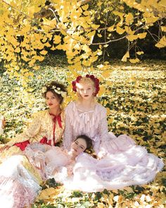 Love Gugu Mbatha- Raw, Lily Nova, and Mackenzie Foy wearing Rodarte in the March issue of Thank you for the beautiful feature on Rodarte and California. Photographed at the LA Arboretum by Tierney Gearon, styled by: Alex Harrington. Mackenzie Foy, Modern Photographers, Romantic Woman, Astral Projection, Beautiful Actresses, Love Art, Fashion Art, Boy Or Girl