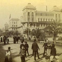 Gran Hotel Internacional en Paseo de Colón, se construyó para la Exposición Universal del 1888. Actualmente no existe.