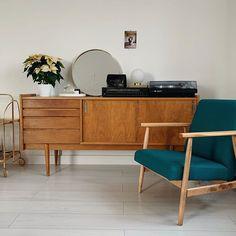 Credenza, Mid Century, Cabinet, Storage, Interior, Furniture, Home Decor, Illustrations, Clothes Stand
