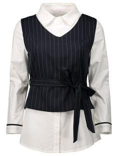 $19.94 Waistcoat with Blouse