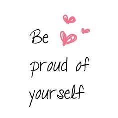 ☆ proud