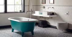 Pretty bathroom ideas from Fired Earth|UK