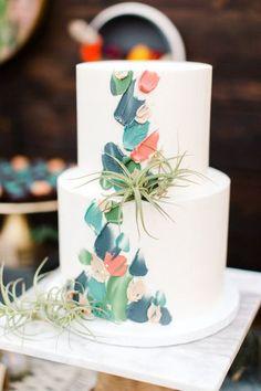 Autumn Wedding Cakes, Wedding Cake Rustic, Beautiful Wedding Cakes, Autumn Cake, Pumpkin Wedding, Beautiful Cakes, Brushstroke Cake, Fall Cakes, Greenhouse Wedding