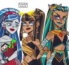 Arte Monster High, Monster Prom, Love Monster, Monster High Dolls, Cute Art Styles, Cartoon Art Styles, Character Art, Character Design, Personajes Monster High