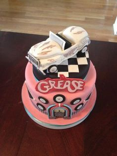 Grease Movie Cake Decoration