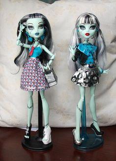frankie stein polyvore  | Dolls Buy Monster High Fashion Frankie Stein Two Sets
