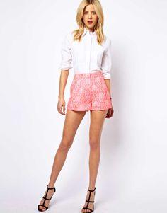 Fluro Jacquard Shorts