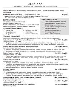 images about resume examples on pinterest   resume examples    child care teacher resume example