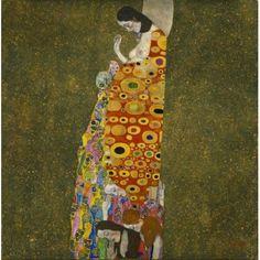 Hope 2 Canvas Art - Gustav Klimt (18 x 24)