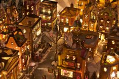 Overhead view Christmas Village From Chris Gordon