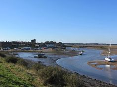Burnham Overy Staithe from the Norfolk Coast Path