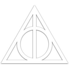 Harry Potter Deathly Hallows Symbol Car Window by juicydecals, $1.99