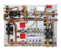 Radiant Floor Heating system information Pex Plumbing, Heating And Plumbing, Hydronic Heating, Underfloor Heating, Hydronic Radiant Floor Heating, Basement Flooring, Flooring Ideas, Radiant Heat, Home Repairs