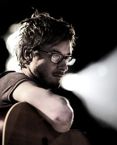 Arthur Darvill, you should wear glasses more often.