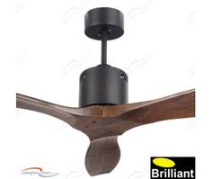 Family room Modern - Timber Blades Ceiling Fans