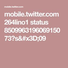 mobile.twitter.com 264lino1 status 850996319606915073?s=09