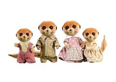 Sylvanian Families Cute Meerkat Family F/S Sylvanian Families, Bear Toy, Teddy Bear, Pet Toys, Kids Toys, Calico Critters Families, Stick Figure Drawing, Pretty Drawings, Hasbro Transformers