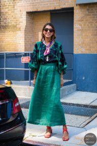 New York SS 2018 Street Style: Ramya Giangola - Fashion Spring Street Style, Street Chic, Spring Summer Fashion, Arty Fashion, Style Fashion, Fashion Pants, Fashion Outfits, Fashion Ideas, Urban Fashion Photography