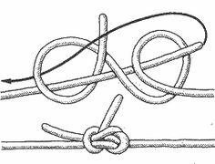 морские узлы - польский