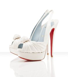 Jenny - Louboutin's -- Love the White & Red together...