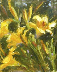 """""""Mark Twain's Garden"""" 9 x 12"""" By Johanna Spinks"""