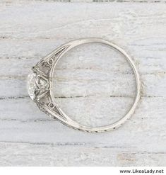 Image of Carat Art Deco Vintage Engagement Ring Erstwhile Jewelry Co. (working link) Image of Carat Art Deco Vintage Engagement Ring Erstwhile Jewelry Co. Wedding Rings Simple, Wedding Rings Vintage, Vintage Engagement Rings, Vintage Rings, Wedding Engagement, Diamond Engagement Rings, Wedding Jewelry, Wedding Bands, Unique Vintage