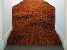 phytos: Antony Gormley - Field, 1989-2003 200,000 terracotta figures, each looking towards the viewer, completely occupy the space in which they are installed. The figures are made from 125 tonnes of...