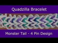 """The name """"Quadzilla"""" was chosen by Jenna Lynn during the """"Name This Monster Tail® Bracelet"""" Contest held between May 27, 2014 and June 8, 2014. With nearly 6..."""