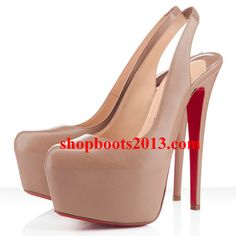Christian Louboutin Shoes and Christian Louboutin Wedding Shoes, Christian Louboutin Dafsling Slingbacks, Cl Shoes, Me Too Shoes, Shoes Heels, Nude Shoes, High Heels, Cheap Christian Louboutin, Red Bottom Shoes, Fashion Heels, Paris Fashion