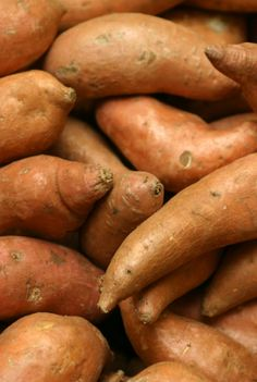 """Easy tips on how to cook sweet potatoes. """"Microwave 4 minutes, then bake at 450 degrees for 5 to 10 minutes."""""""
