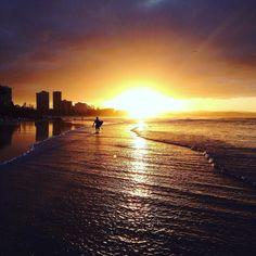 Snapper Rocks QLD Australia #australia #queensland #qld #snapperrocks #wsl #roxypro #sunset #beach #quicksilverpro #discoverqueensland #beautifuldestinations #snapper #surfer #goldcoast #beach #waves #cyclone #surfers #surfboard #coolangatta #aussie #seeaustralia #hightide #lowtide #sunshine #sun #queenslander #gday #mate #kirra by globalscapes