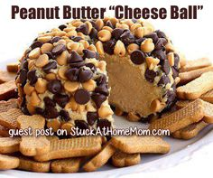 "#RECIPE - Peanut Butter ""Cheese Ball"" 