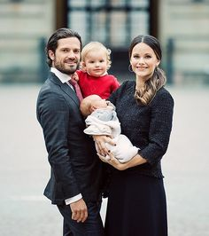Sweden's Prince Carl Philip with wife Princess Sofia and their two boys Prince Alexader and Prince Gabriel. Wishing Happy Birthday to Prince Carl Philip who turned 39 yrs old on May 2018