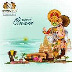 Easy To Edit Vector Illustration Of Happy Onam Holiday For South India Festival Background Poster Onam Wishes Images, Happy Onam Images, Onam Wishes Quotes, Onam Pictures, Onam Photos, Happy Onam Wishes, Onam Pookalam Design, Onam Celebration, Festival Celebration