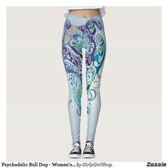 Psychadelic Bull Dog - Women's Pants