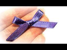 Lazos pequeños EXPRESS. Small bows. - YouTube