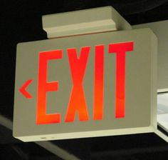 Exit Lights | Exit and emergency light maintenance.