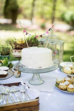 Gorgeous dessert table with vintage dishes and decor! - Southern Vintage Table
