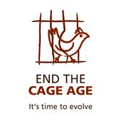 end the cage age, it's time to evolve; go #vegan