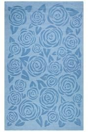 Martha Stewart Living™ Block Print Rose Area Rug