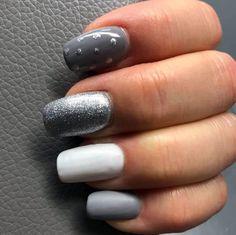 Nail Desighns, Grey Nail Designs, Matte Top Coats, Gray Nails, Knowledge And Wisdom, Us Nails, Gel Nail Polish, Nail Artist, Nails Inspiration