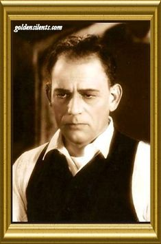 "Lon Chaney, father of Lon Chaney, Jr. son of deaf parents, known as ""The Man of a Thousand Faces"" famous silent film actor 1883-1930"